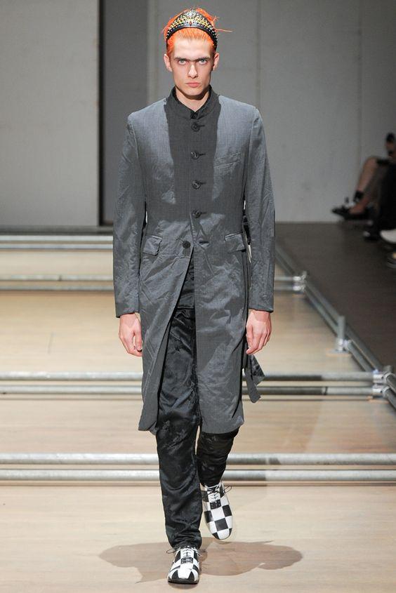 Comme des Garçons Spring 2013 Menswear Collection Slideshow on Style.com