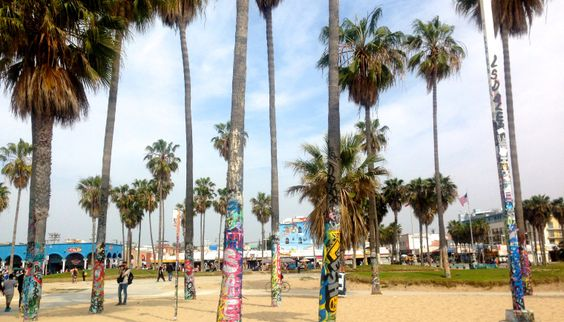Venice Beach on www.wandervibe.com #travel #california #losangeles #travelblog #venicebeach