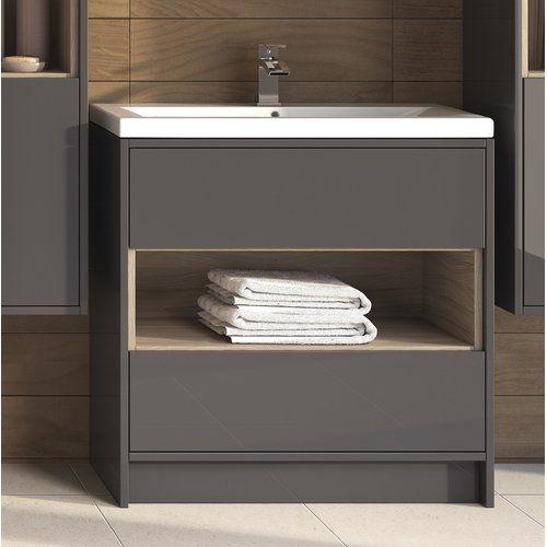 Hudson Reed Coast 810mm Free Standing Vanity Unit Free Standing Vanity Unique Bathroom Vanity Vanity Units