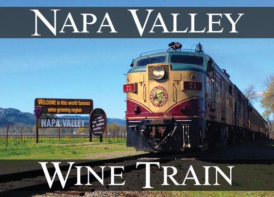 The Napa Valley Wine Train. Bucket List!