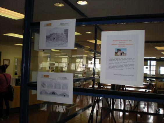 Exposició Biblioteca, imatges del nostre patrimoni etnològic