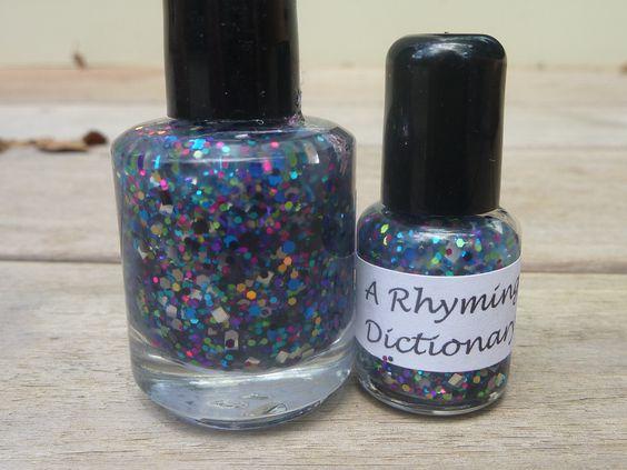 Polychrome- Nail Polish. $7.50, via Etsy.