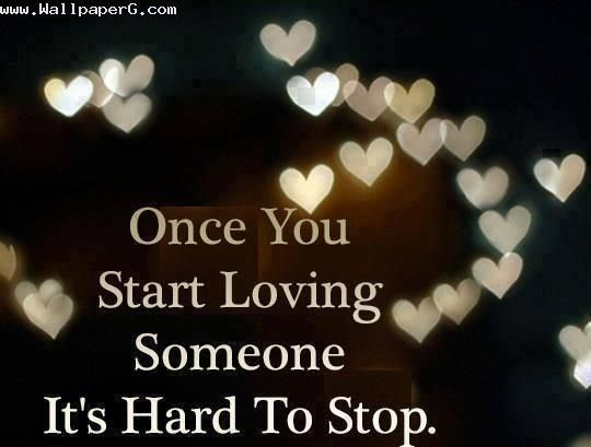 Download Its hard Heart touching love quote for your