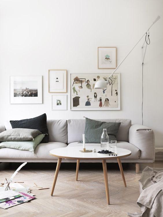 Influência nórdica: salas! | Danielle Noce