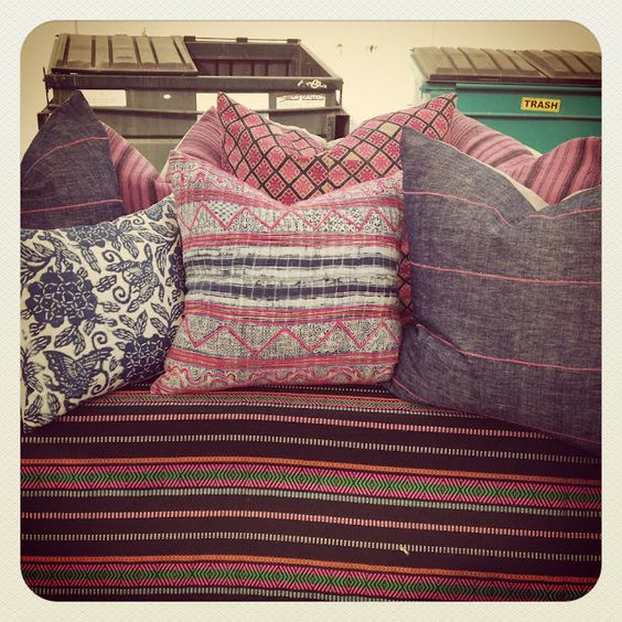 pillows by indian pink