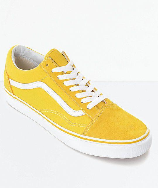 vans amarilla