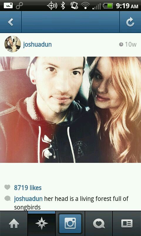 Debby Ryan and josh dun engaged