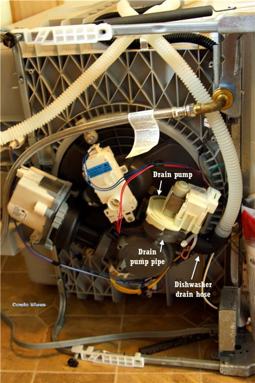 How To Repair A Dishwasher That Won T Drain Dishwasher Repair Dishwasher Hose Unclog Sink