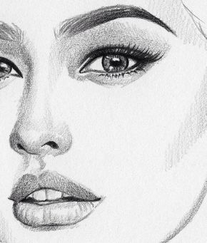 Drawing Girl Love And Beautiful Girl Face Drawing Sketches Girl Drawing