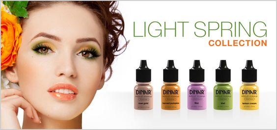 Just loving the new shades for spring in airbrush!