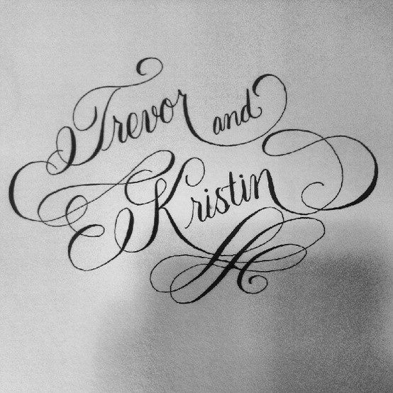 Modern calligraphy by jennifer