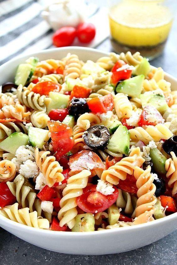 Chicken Pasta Salad Gym Meals Recipe In 2020 Easy Pasta Salad Recipe Pasta Salad Italian Italian Pasta Salad Recipe