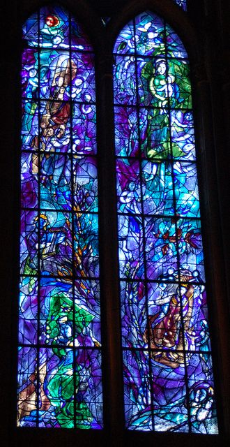 marc chagall glass in france - Google Search