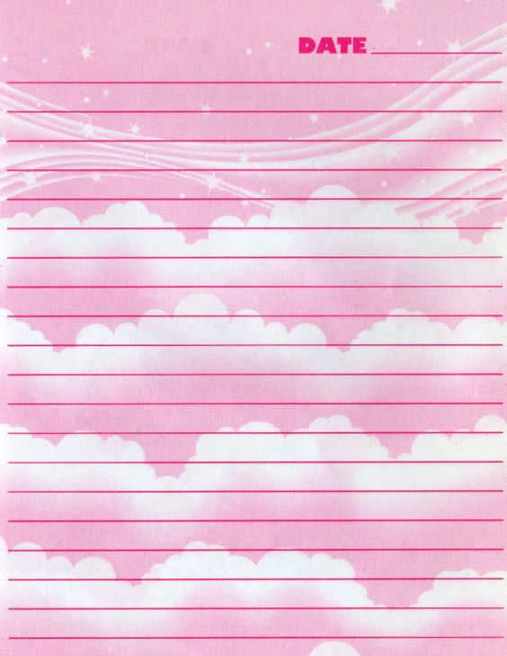 Printable Lisa Frank diary pages stationery paper Pinterest - diary paper printable