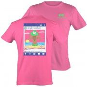 Simply Southern Tee Pink Beach Photo Please Like shirt Short Sleeve T-Shirt