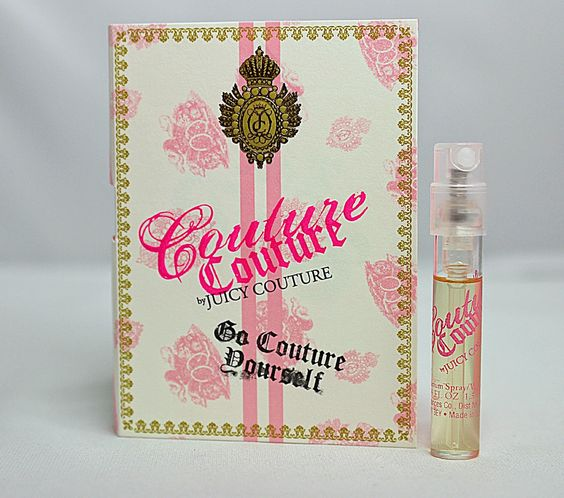 I Am Juicy Couture perfume, sample size. | ISO BEAUTY ~ ALL ...