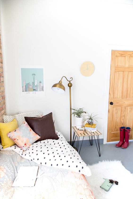 Dorm room makeover: