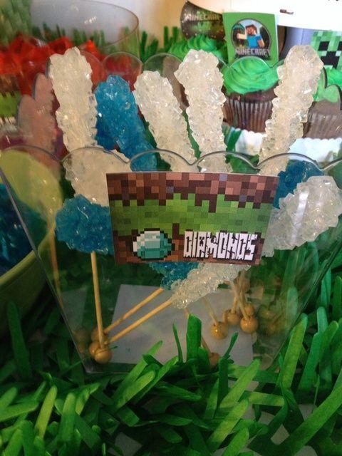 Minecraft Birthday Party Ideas | Photo 16 of 27