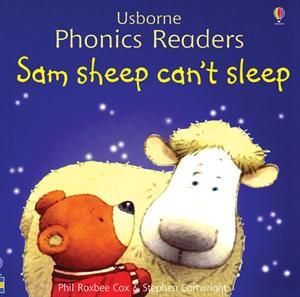"One of the original books in the Usborne Phonics Readers Series,""Sam Sheep Can't Sleep,"" is still available as a separate title as well as included in ""Ted and Friends,"" the combined volume of the first twelve phonics books published and illustrated by Stephen Cartwright."