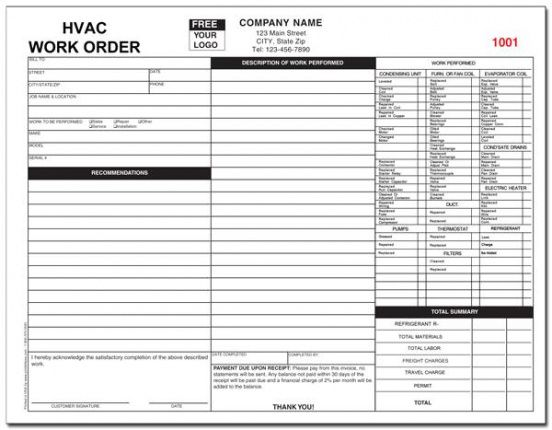 Browse Our Example Of Air Conditioning Repair Invoice Template Invoice Template Air Conditioning Repair Hvac