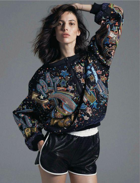 "Ruby Aldridge in ""New Rules"" byDriu + TiagoforAmica Magazine, March 2014"