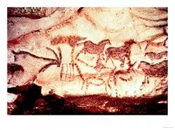 Prehistoric cave paintings have been discovered in caves around the world, such as the  Chauvet and Lascaux caves in France, the Altamira cave...