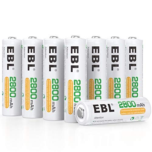 Top 10 Ebl Rechargeable Batteries Of 2020 Rechargeable Batteries Rechargeable Battery Charger Aa Batteries