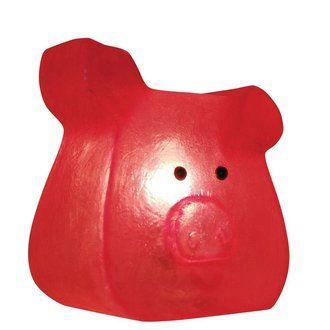Lampe cochon par  Incidence chez Delamaison