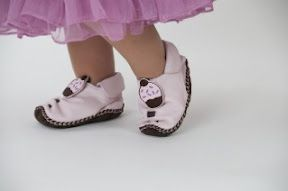 Shoes that grow with your baby