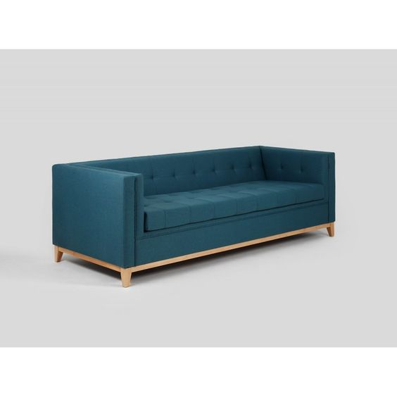 canap convertible contemporain 3 places motley bleu atylia sofa pinterest lieux. Black Bedroom Furniture Sets. Home Design Ideas