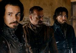There's more... The Musketeers 2x09 Aramis Treville Athos