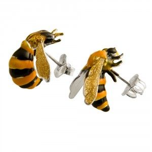 Delfina Delettrez (Rome, Italy) To bee or not to be earrings