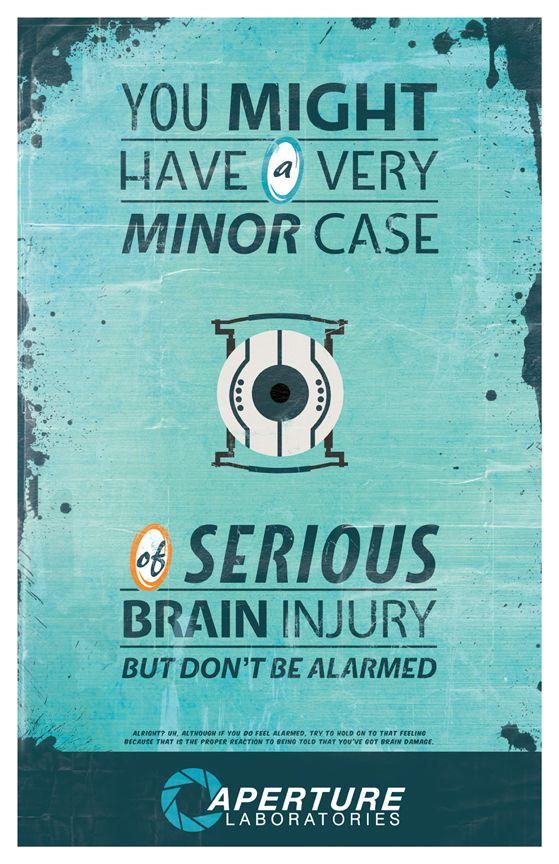 Portal Posters by Kelly Acebal, via Behance