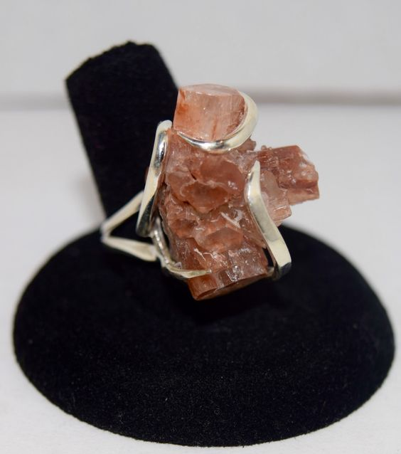 A personal favorite from my Etsy shop https://www.etsy.com/listing/467242899/natural-aragonite-crystals-ring-set-in