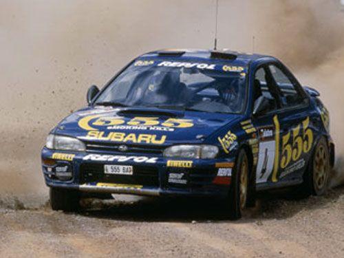 Subaru Impreza 555 - WRC 1995