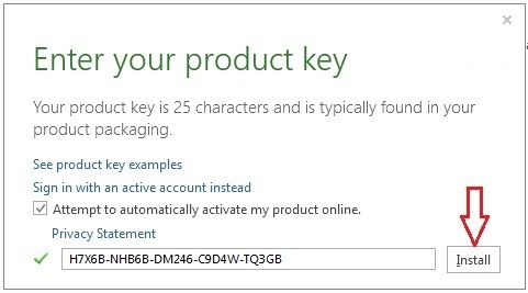 microsoft office 2013 product key Microsoft Office product key - privacy statement