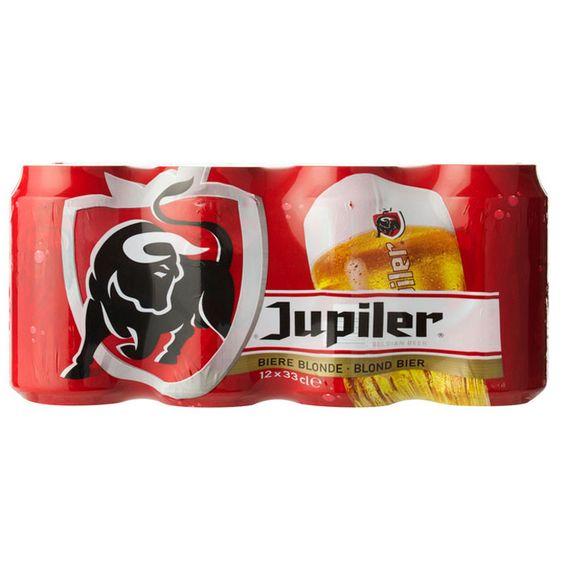 Jupiler Bier 24 x 0,33l dosen €27,95