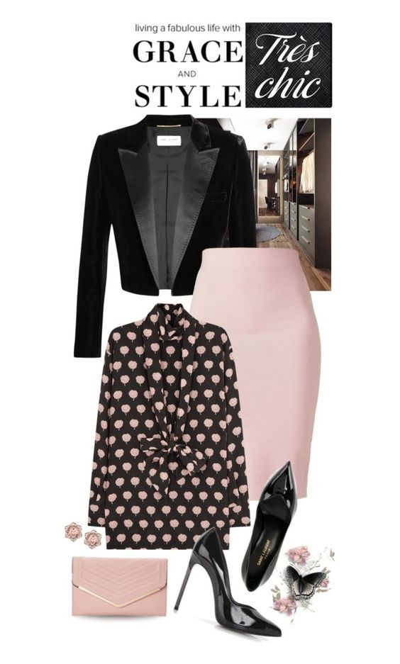 STYLE AND GRACE by shortyluv718 on Polyvore featuring polyvore fashion style Lanvin Yves Saint Laurent Winser London Sasha Oliver Gal Artist Co. clothing happybirthday