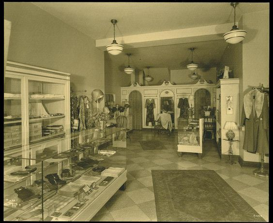 The Dress Shop at the old 1925 Peabody Hotel,in Memphis,Tenn ...