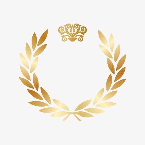 Gold Laurel Wreath Gold Gold Clipart Golden Wreath Png Transparent Clipart Image And Psd File For Free Download Olive Wreath Gold Laurel Wreath Laurel Wreath