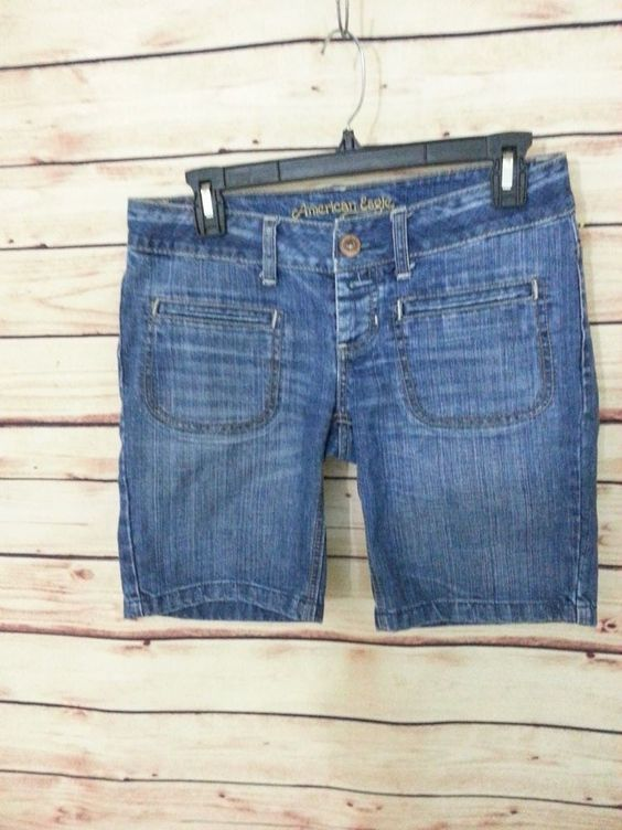 Details about American Eagle Outfitters jeans shorts womens size 2 ...