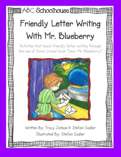 Dear Mr Blueberry Letter Writing Activities