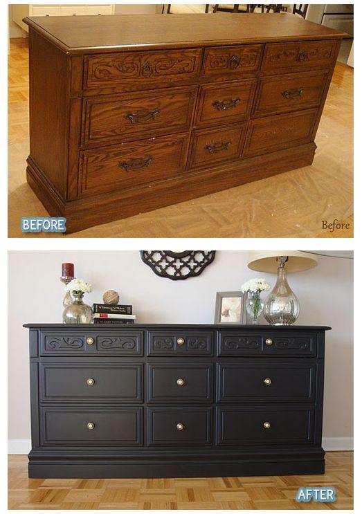 Best 25+ Dresser Refinish Ideas On Pinterest | Redone Dressers, White Wood  Dresser And Restored Dresser