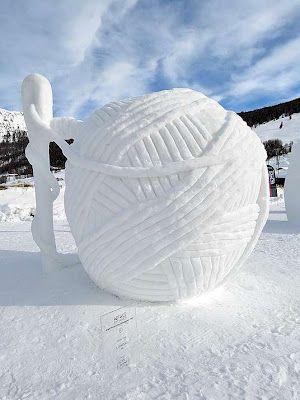 how to make an snow sculpture