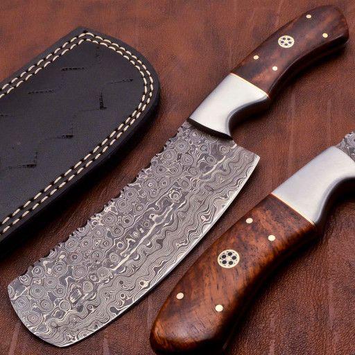 9 5 Gorgeous Super Quality Damascus Handmade Cleaver Fb1797 Handmade Kitchens Damascus Steel Kitchen Knife Design