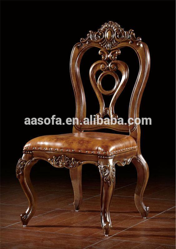 muebles clásicos de madera de lujo comedor juego de comedor lujo