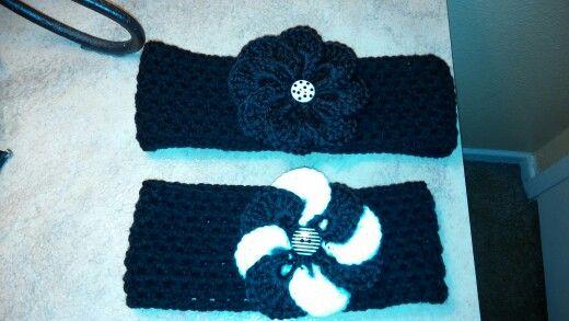 Crochet on pinterest - Diademas a crochet ...