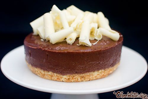 Super Easy No-Bake Nutella Cheesecake