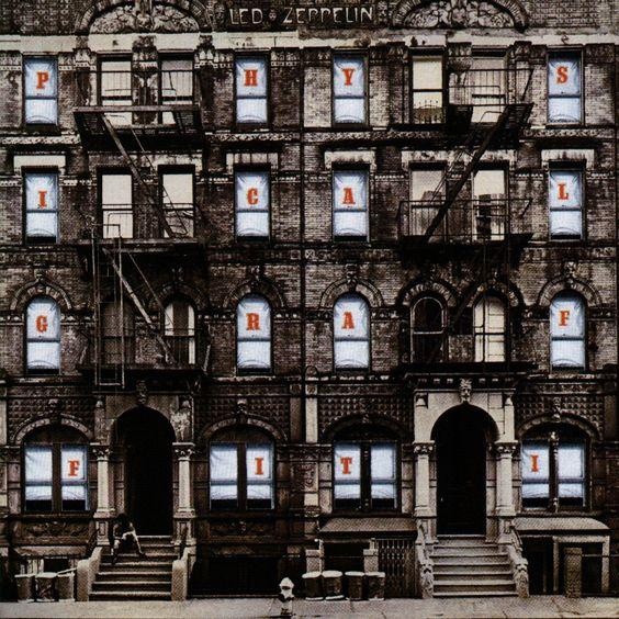Physical Graffiti (1975) - Led Zeppelin: Led Zeppelin Album, Album Cover, Favorite Albums, Led Zeppelin Physical Graffiti, Album Art, Led Zepplin, Classic Album