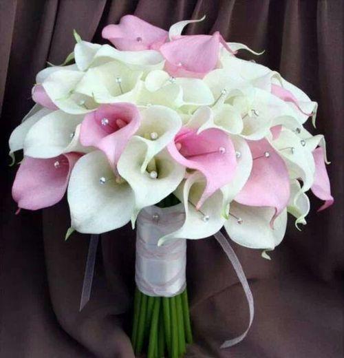 #Buquê #Artesanal # White #Bouquet #Wedding #Noiva #Copo-de-leite
